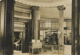 Lobby of the Free Public Library and Cultural Center of Bayonne before 1959